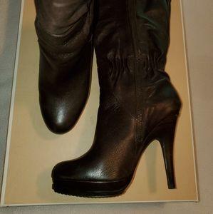 Michael Kors Tall Dark Brown Boots